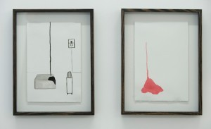 Katie Lee, Slump Series, framed by Woodworks